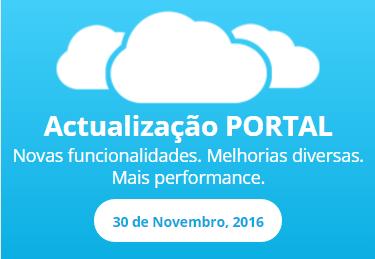 Actualização do Portal