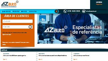 AZ Auto lança novo Portal